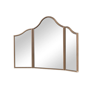 Contempo Gold Paint Dresser Mirror