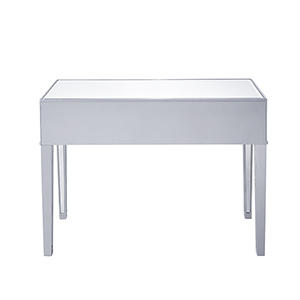 Reflexion Antique Silver Paint Desk