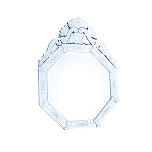 Venetian Glass 30-Inch Mirror
