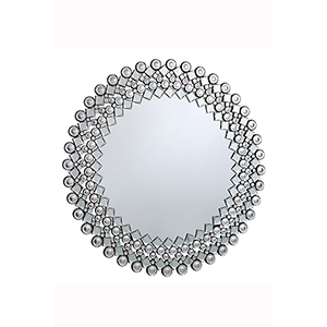 Modern Glass 39-Inch Mirror