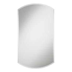 Modern Glass 38-Inch Curve Mirror