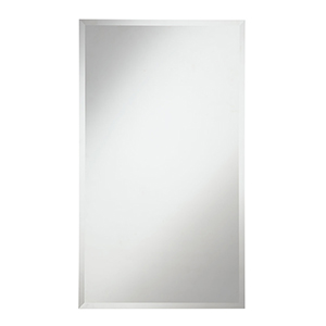 Modern Glass 38-Inch Rectangle Mirror