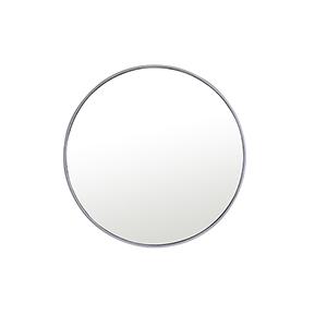 Eternity Silver Round 32-Inch Mirror
