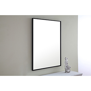 Eternity Black 32-Inch Mirror