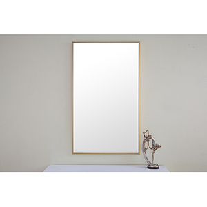 Eternity Brass 24-Inch Mirror