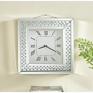 Sparkle Crystal 20-Inch Wall clock