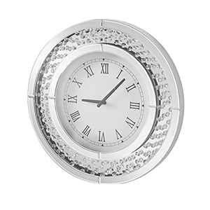 Sparkle Crystal Contemporary 20-Inch Wall clock