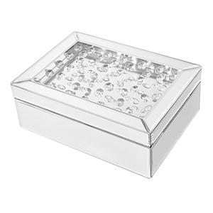 Sparkle Crystal 10-Inch Jewelry box