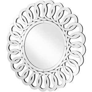 Sparkle Glass 31-Inch Link Mirror