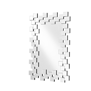 Sparkle Glass 31-Inch Tile Mirror