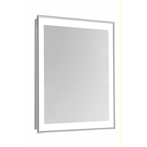 Nova Frosted White 40-Inch Four-Side LED Mirror 5000K