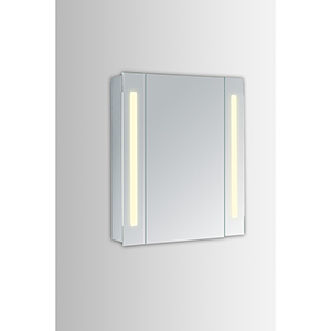 Elixir Silver Powder Coating 30-Inch LED Mirror 3000K