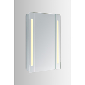 Elixir Silver Powder Coating 19-Inch LED Mirror 3000K