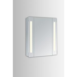 Elixir Silver Powder Coating 39-Inch LED Mirror 5000K