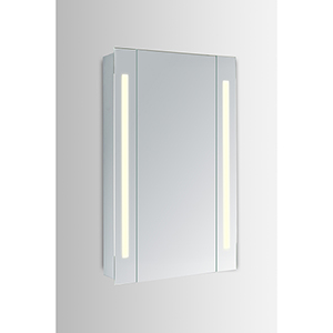 Elixir Silver Powder Coating 30-Inch LED Mirror 5000K