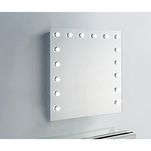 Hollywood Silver Anodized 36-Inch LED Mirror 5000K