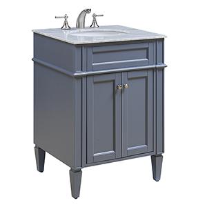 Park Ave Grey Vanity Washstand