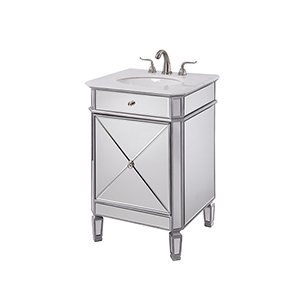 Camille Mirrored Vanity Washstand
