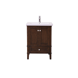 Aqua Antique Coffee Vanity Washstand