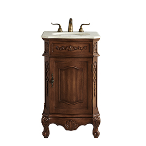 Danville Teak Vanity Washstand