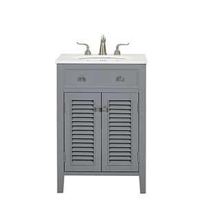 Cape Cod Grey Vanity Washstand