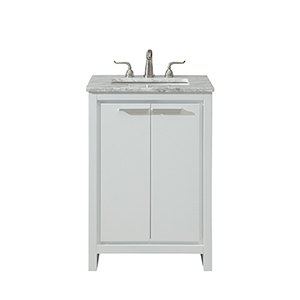 Filipo Frosted White Vanity Washstand