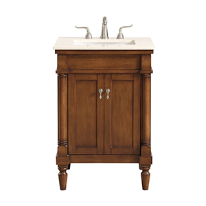 Lexington Walnut Vanity Washstand