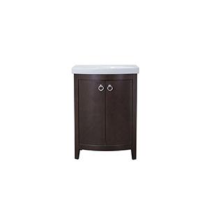 Cole Dark Walnut Vanity Washstand