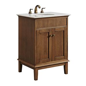Sutton Chestnut Wood Vanity Washstand