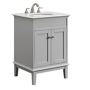Sutton Grey Vanity Washstand