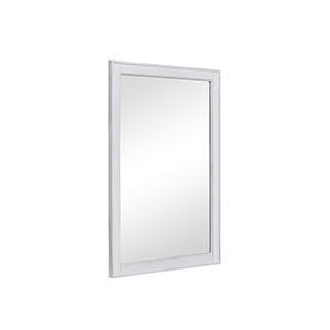 Lexington Antique Frosted White 24-Inch Mirror