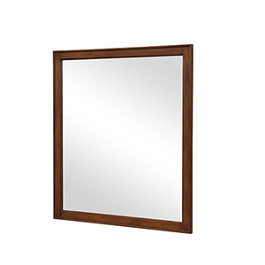 Lexington Walnut 32-Inch Mirror