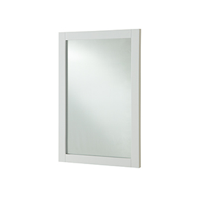 Americana Frosted White 24-Inch Mirror