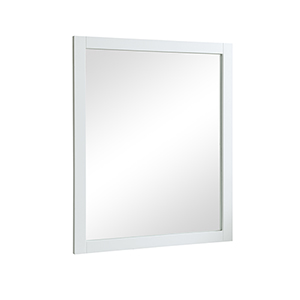Americana Frosted White 32-Inch Mirror