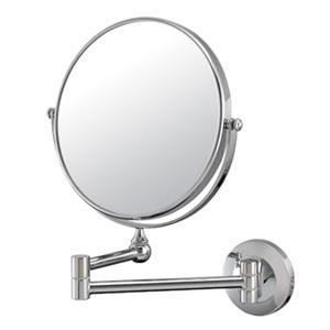 Mirror Image Chrome Pivot Arm Wall Mirror