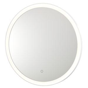 Round Warm Back-Lit Mirror