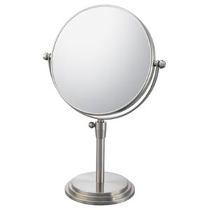 Mirror Image Brushed Nickel Classic Adjustable Vanity Mirror