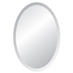 Regency 22 x 30 Oval Beveled Edge Mirror