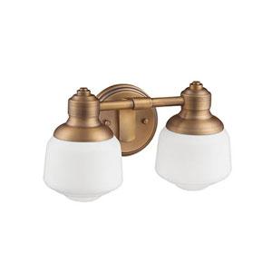 Heirloom Bronze Two-Light Vanity