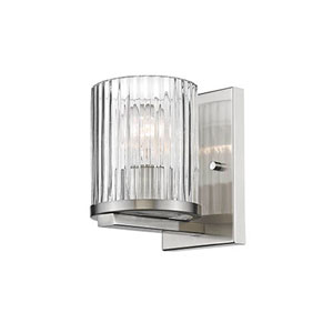 Satin Nickel One-Light Wall Sconce