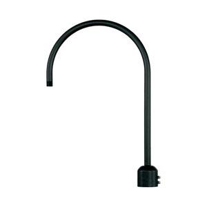 R Series Satin Black Post Adapter