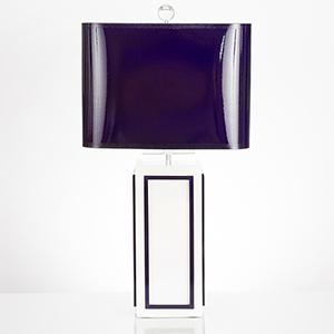 Lagos Indigo One-Light Table Lamp