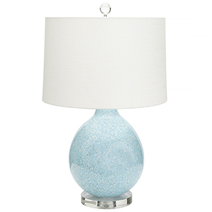 Tilly Blue 27-Inch One-Light Table Lamp