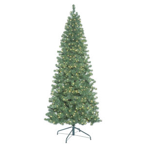 Oregon Slim Green 650 LED Light Artificial Pre-lit Tree
