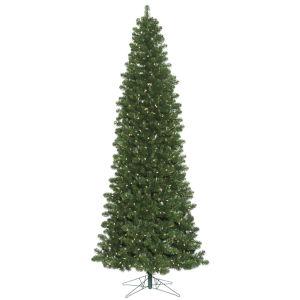 Oregon Slim Green 900 LED Light Artificial Pre-lit Tree