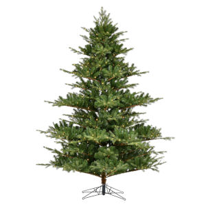 Sherwood Fir Green 1050 LED Light Artificial Pre-lit Tree