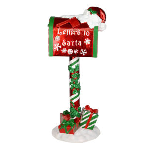 Letters To Santa Red 36-Inch Seasonal Lawn Decor
