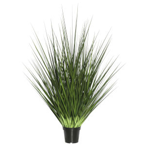 Green 24-Inch Extra Full Grass Potted