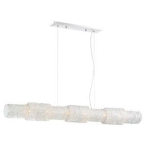 Sposa Chrome Eight-Light Pendant
