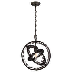 Orbita Vintage Bronze One-Light Pendant